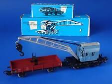 MARKLIN H0 - 4611 - Crane Car + Flat Wagon 4503 / BOX - EXC