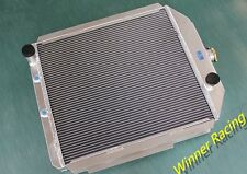 ALUMINUM RADIATOR FORD FIT F1-F8 TRUCK/PICKUP 48-52 W/FORD 302 V8 MOTOR SWAP AT