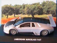 LAMBORGHINI MURCIELAGO R-GT 2003 EDISON EG GIOCATTOLI 1/43 SILVER SILBER BLACK
