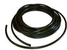 6mm BLACK flexible PVC Sleeve / Sleeving /Tubing - 10 metres