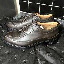 """New listing Men's Brown leather calloway golf shoes size 11.5 """"NEW"""""""