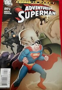 °ADVENTURES OF SUPERMAN #645: °US DC 2005 Infinity Crisis is Here!
