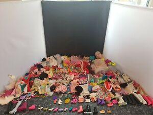 Vintage Barbie Doll Clothing And Shoes Bundle Mattel Over 100 Pieces
