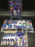 2020 Bowmans Best Vladimir Guerrero Jr (12x) LOT w/Purple Refractor /250 +*DES*!