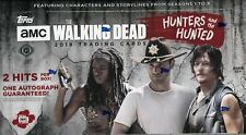 More details for topps the walking dead hunters and the hunted factory sealed hobby box