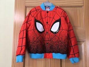 New DISNEY Store Spider-Man Varsity Jacket for Boys many sizes