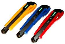 25 x Teppichmesser Cuttermesser Paketmesser Messer 18mm Abbrechklinge Werkzeug