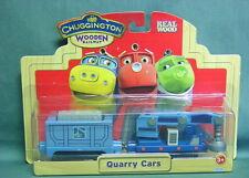 CHUGGINGTON WOODEN RAILWAY- QUARRY CARS