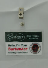 True Blood ID Badge-Merlotte's Bar & Grill Bartender prop costume cosplay