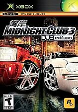 Midnight Club 3: DUB Edition (Microsoft Xbox, 2005) Complete! FREE SHIPPING!!!
