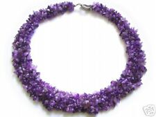 """Gorgeous Luxury Amethyst Chain L- 18.89"""" cm New product"""