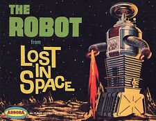 Aurora The Robot From Lost In Space Box Art Sticker or Magnet