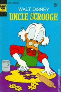 Uncle Scrooge #100 GD/VG 3.0 1972 Whitman Stock Image Low Grade