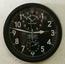 Wall Clock Soviet Russian Jaeger aircraft Military cockpit chronograph AChS 1