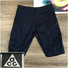 Nike ACG Cargo Shorts Nikelab NSW 829576-451 Sz L Large All Conditions Gear Blue