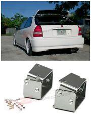 Fit 96-00 Civic EK9 3DR Type R Spoiler CTR Wing Riser Lift Alex Tilt Brackets