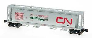 Intermountain Z Scale Cyl. Covered Hopper Canadian National/CN/Environmental