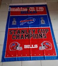 Buffalo Bills Stanley Cup Champions Flag