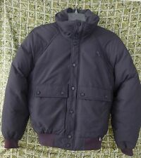 Edelweiss Winter Coat Size Small Mens Down Feather Fill Gray Vtg Ski Snowboard