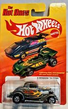2011 HOT WHEELS THE HOT ONES 1934 FORD 3 WINDOW COUPE SILVER/FLAMES