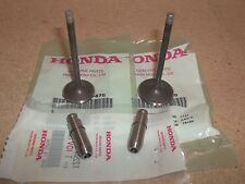 Honda Intake and Exhaust Valves + Guides Foreman 450 TRX450 FE FM 2002 2003 2004