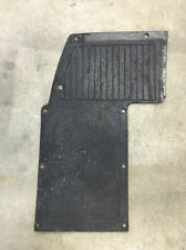 Yamaha Golf Cart RUBBER FLOOR MAT DRIVER SIDE LH FOOT PAD Vintage Used Part