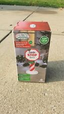 Santa Stop Here Sign Christmas Inflatable 3.5 FT TALL