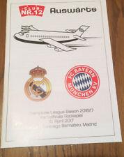 Programm Real Madrid - FC Bayern München Club Nr. 12 Sonderflug