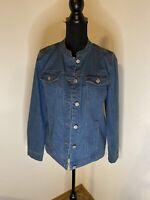Denim & Co Jean Jacket Size S