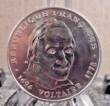 CIRCULATED 1994 5 FRANCS VOLTAIRE FRENCH COIN (40817)1