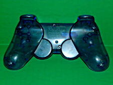 (1) SONY PLAYSTATION 2 BLUE OEM PS2 DUALSHOCK SHELL CASING BACK ONLY 3047