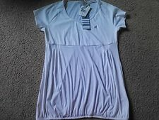 Ladies Adidas Fitness  Shirt Size M White Climalite Stay Dry longer length NEW