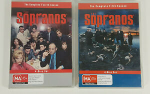 The Sopranos Complete Fourth and Fifth Seasons DVD
