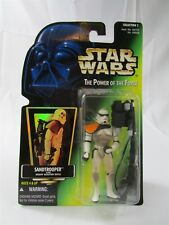 Star Wars Potf Sandtrooper With Heavy Blaster Rifle Kenner