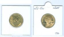 France 20 centimes 2000 PP seulement 15.000 pièce