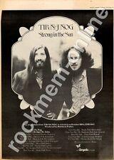 Tir Na Nog CHR 1047 Festival Theatre, Paignton MM3 LP/Tour advert 1973