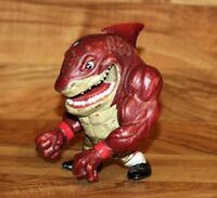1994 Street Wise Designs Street Sharks Big Slammu Action Figure Figur