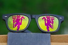 Manchester United FC logo sunglasses ManUtd glasses MUFC