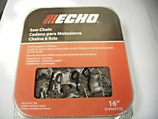 "91PX57CQ GENUINE ECHO 16"" CHAIN CS-370 cs-360T cs-346 cs-3450 cs-345 cs-341"