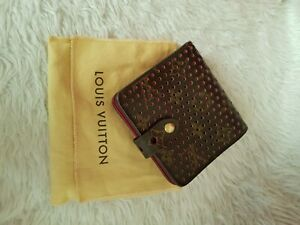 LOUIS Vuitton authentic Perforated Bifold Wallet