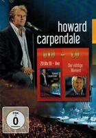 DVD UND CD NEU/OVP - Howard Carpendale - 20 Uhr 10 Live / Der richtige Moment