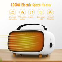 Electric Mini Heater 220V Fast Heating 1000W Small Space Heat Fan Home Office