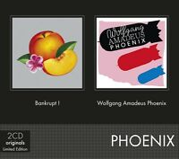PHOENIX - BANKRUPT!/WOLFGANG AMADEUS PHOENIX 2 CD NEU