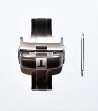 Tissot Titanium Clasp Buckle For T-Touch Expert SOLAR (T091420A) Leather Straps