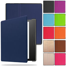 Smart Leather Flip Slim Cover For Waterproof Amazon Kindle Oasis E-reader 2017