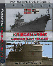 KRIEGSMARINE Historic WW2 GERMAN NAVY Films on DVD !