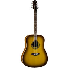 Luna Guitars Muse M Dreadnought Dreadnought Acoustic Guitar - Satin Burst , New!