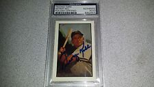 GEORGE KELL HOF RED SOX SIGNED AUTOGRAPHED BASEBALL TRADING CARD PSA DNA