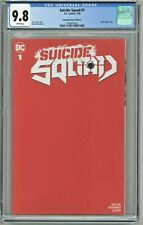 Suicide Squad #1 CGC 9.8 Unknown Comics Edition E Red Partial Blank Cover
