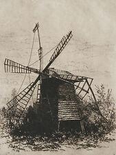 FREDERICK DE BOURG RICHARDS  ORIGINAL ETCHING ~  LISTED PENNSYLVANIA ARTIST 1883